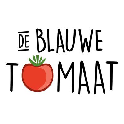 de blauwe tomaat